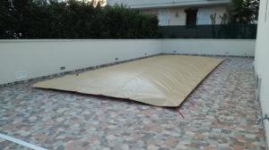 copetura invernale per piscina polartex aircover