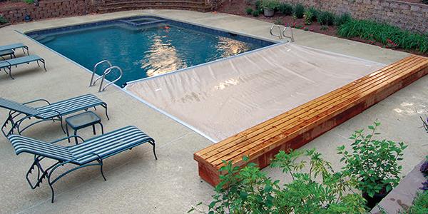 Copertura di Sicurezza per piscina Polartex® 4 SEASONS TOPTRACK automatica