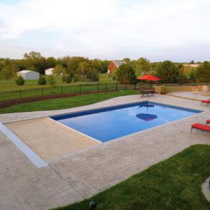 Copertura di Sicurezza per piscina Polartex® 4 SEASONS UNDERTRACK automatica