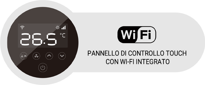 pannello con wifi mr smart